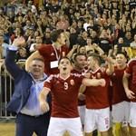 Nehéz ellenfeleket kapott az EB-re drámaian kijutott futsal válogatott