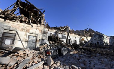 6,3-as erősségű földrengés volt Horvátországban, súlyosak a károk