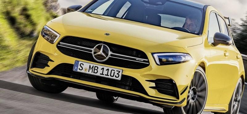 306 lóerős lett a kecskeméti Mercedes A-osztály legerősebb változata