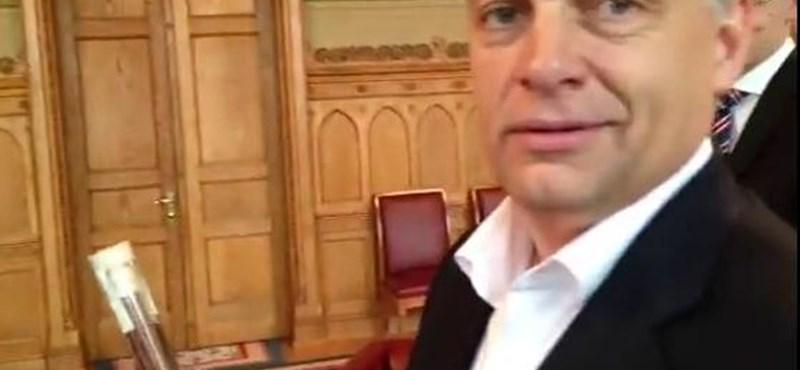 Orbán viccel: egy pálinka miatt nyerhettek 2010-ben