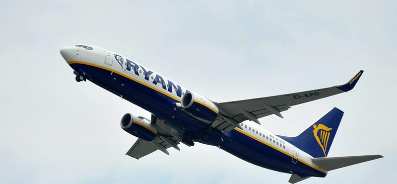 Durva gyomrost kapott a Ryanair