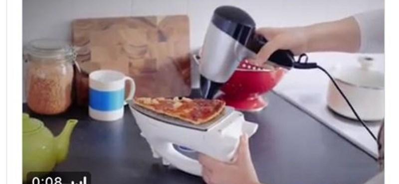 Ennél furcsább dolgot nem láthatunk a konyhában - a nap képe