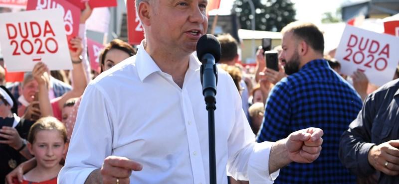 Koronavírusos a lengyel elnök