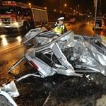 Fotók jöttek a Budaörsi úton történt éjjeli tragédiáról