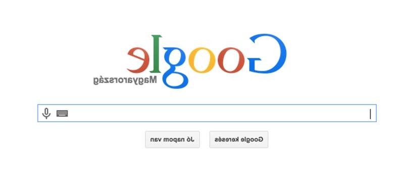 Nem lát rosszul, ez a Google újabb, április 1-jei tréfája