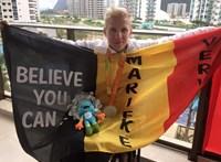 Az eutanáziát választotta Marieke Vervoort belga paralimpiai bajnok