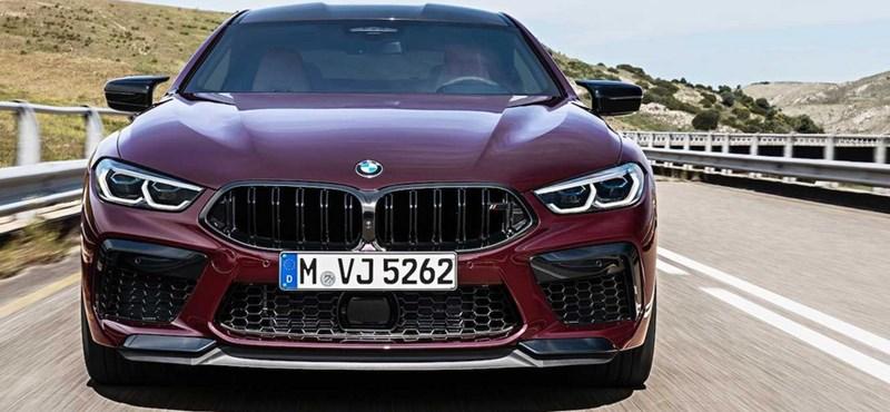 625 lóerős négyajtós kupéként itt a legújabb BMW M8