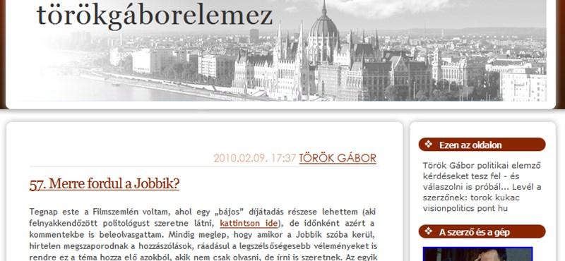 Török Gábor: kemény retorikai küzdelem a Fidesz-Jobbik harcban