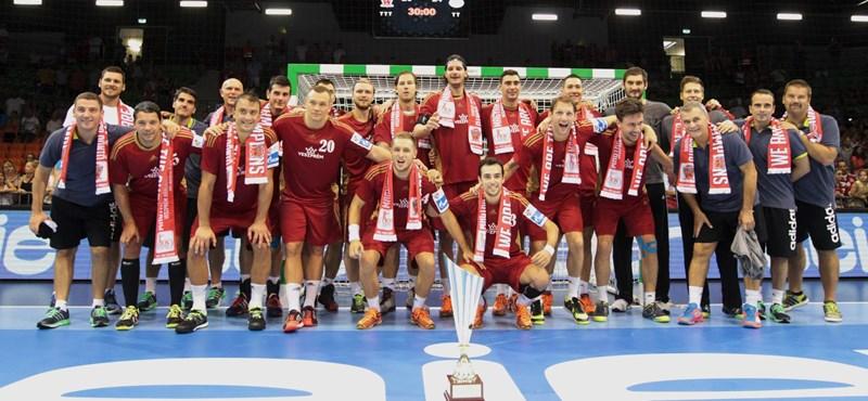 Az MKB és az MVM után új nevet visel a Veszprém kézilabdacsapata