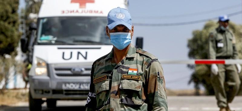 Több mint 200 ENSZ alkalmazott fertőződött meg Szíriában