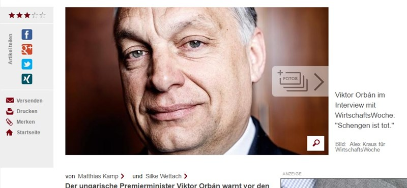 """Orbán: """"A következő 15-20 évben a politikában maradok"""""""