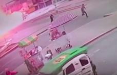 Gázszállító teherautó robbant fel Limában, több halott és sérült