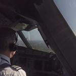 Ezt látja a pilóta, amikor leszáll London legveszélyesebb repülőterén