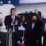Trump fogadta az Észak-Koreából elengedett foglyokat