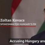 Nevetséges, buta, ostoba - Kovács Zoltán interjút adott a BBC-nek