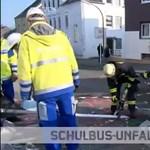 Tizenkilenc gyermek sérült meg egy dortmundi iskolabusz-balesetben