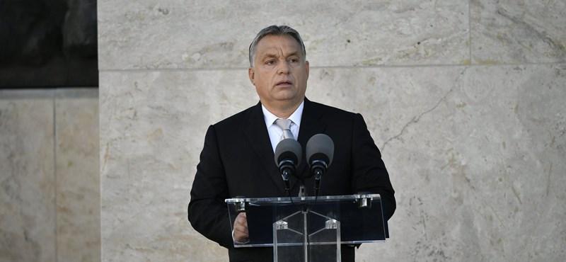 Orbán beszéde Tisza Istvánról: rossz európai döntések sorozata sodort minket a világháborúba