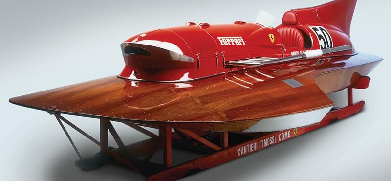 Eladó egy csodálatos Ferrari, ami nem autó, de legalább úgy száguld