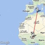 Maliban zuhant le az eltűnt utasszállító