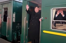 Átjutott az orosz határon Kim Dzsong Un páncélvonata