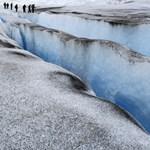 Na, ez baj: felgyorsult a jégolvadás az Antarktiszon