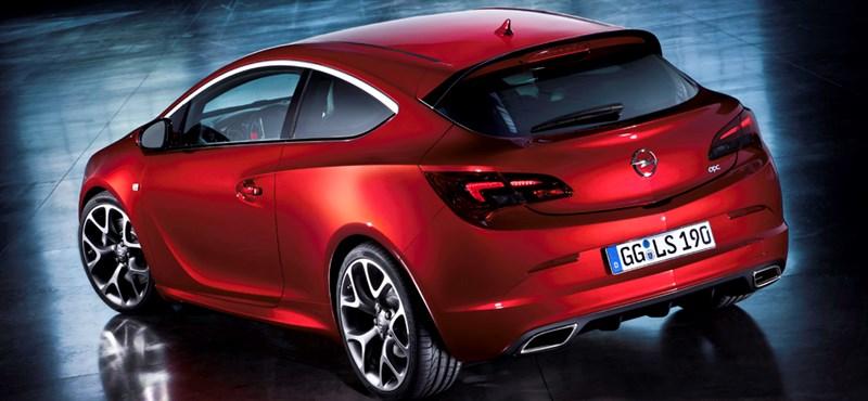 Sosem volt még ilyen gyors az Opel Astra