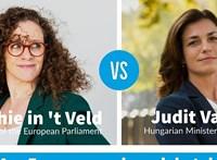 """""""Miért van ez a kis ország állandóan napirenden?"""" - Varga Judit egy holland EP-képviselővel vitázott"""