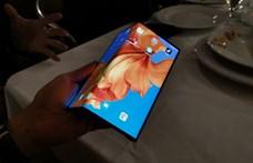 Napokon belül piacra kerülhet a Huawei összehajtható telefonja