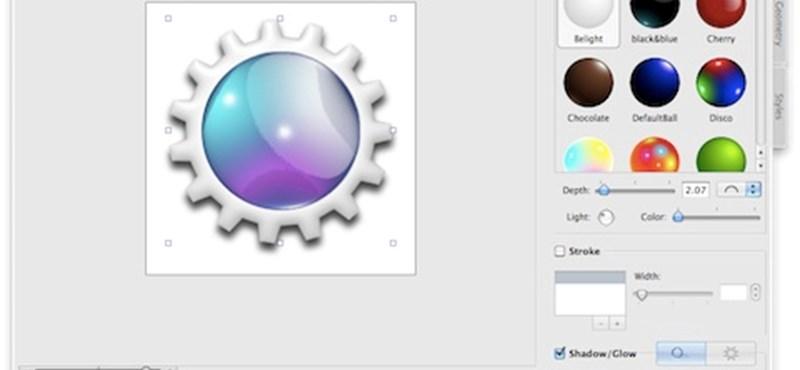 A hét maces alkalmazása: Art Text 2 - ikonok és gombok készítése