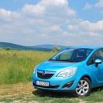 Opel Meriva teszt: bringabarát autó
