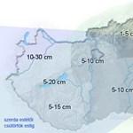 Komoly hóhelyzet: senki ne induljon útnak Nyugat-Dunántúlon
