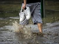 Kiadták a figyelmeztetést, rengeteg eső jöhet ma