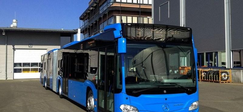Fotó: ilyen vadonatúj buszok járnak tavasztól Budapesten