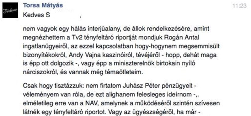 A TV2 felkeresett valakit, hogy kikérdezze Juhász Péterről. Ami ezután történt, arra aligha számított...