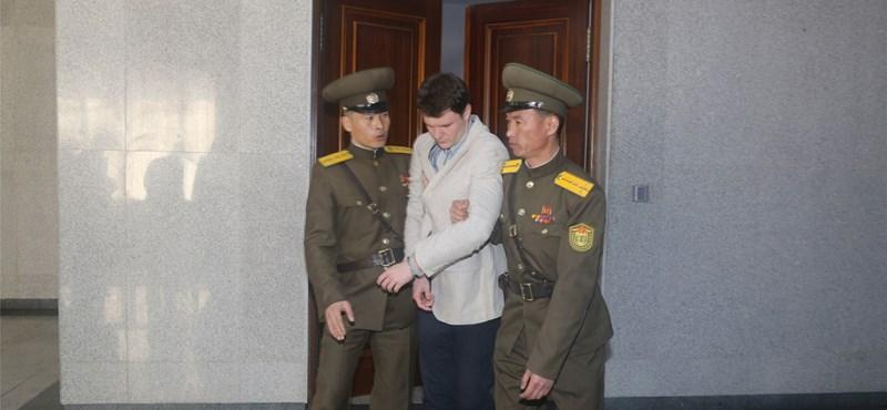 Szülei szerint rángatózva, süketen és vakon került haza az Észak-Koreában bebörtönzött diák