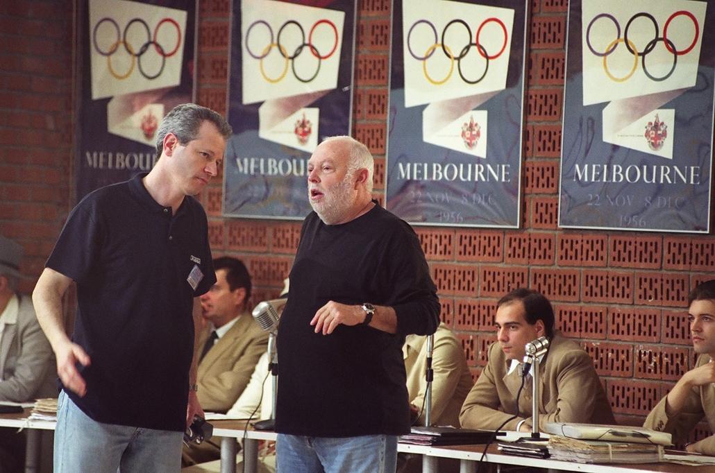 NE HASZNÁLD!!! 2005 Zákonyi S. Tamás és Andy Vajna Szabadság szerelem film forgatásán