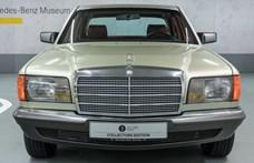 Valódi időgép ez az eladásra kínált 37 esztendős Mercedes S-osztály