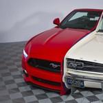 Félbevágott Mustangok összehegesztve: ennyit változott az évek során a Ford izomautója