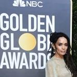 Jason Momoa egyedi kiegészítővel jelent meg a Golden Globe díjátadóján