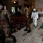Még soha nem volt ennyi új fertőzött egy nap alatt Olaszországban