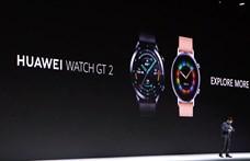 Nem álltak meg a telefonnál: megjött a Huawei új okosórája, a Watch GT 2