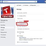 Valaki meghekkelhette a TV2 Tények Facebook-oldalát