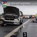 Nehezen megfejthető részletek derültek ki az M3-son elgázolt sofőr balesetéről