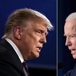 Ha a Facebookon vagy a Twitteren dőlne el, Trump elsöpörné Bident