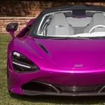 Fukszia színt kapott Michael Fux egyedi McLarenje