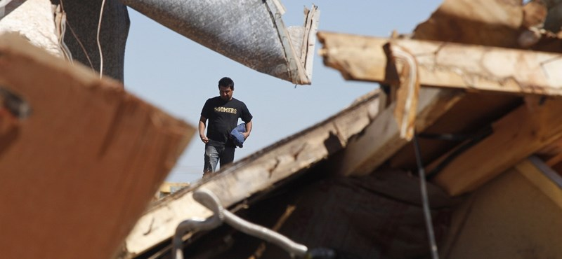 Galéria: pusztulást hagytak maguk után az amerikai tornádók