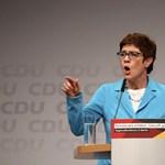 Lemond a CDU vezetéséről Annegret Kramp-Karrenbauer