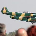 A levegőben gyulladt ki a honvédség egyik gépe
