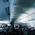 Vigyázni kell a vízzel a repülőgépeken
