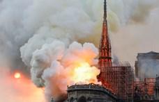 Hajmeresztő álhírek terjednek a leégett Notre-Dame-ról, egyik durvább, mint a másik